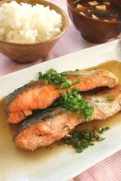 バター焼きに飽きたら…鮭のサッパリ焼き☆の画像