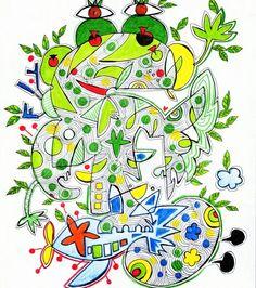 개구리 나무의 비행 / Fligt of frog tree