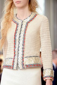 Tory Burch 2013       ♪ ♪ ... #inspiration_crochet #diy GB