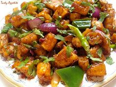 Paneer Chilli is a widely available and one of the few common recipes that we usually find Chef Ruchi Bharani teaches you how to m 15983 - Healthy Food Network Paneer Chilli Dry, Paneer Dry Recipe, Dry Curry Recipe, Indian Paneer Recipes, Indian Food Recipes, Asian Recipes, Ethnic Recipes, Chinese Recipes, Spicy Recipes