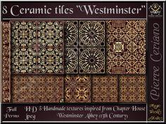 Ceramic tiles of Westminster