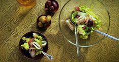 Découvrez cette recette de Salade de calmars grillés pour 4 personnes, vous adorerez! Sprouts, St Pierre, Tacos, Mexican, Vegetables, Ethnic Recipes, Marie, Food, Fruit