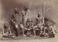 <p>Group of Yogis. Colin Murray for Bourne & Shepherd, ca. 1880s. This photo exoticized yogis for westerners.</p>