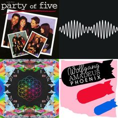 A playlist featuring Rusted Root, Arctic Monkeys, Phoenix, and others