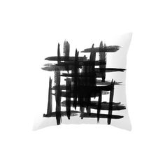 Mod Pieces Brush Strokes Print Accent Pillow - Set of 2 ($156) ❤ liked on Polyvore featuring home, home decor, throw pillows, inspirational throw pillows, patterned throw pillows, handmade home decor, inspirational home decor and colored throw pillows