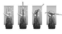 Hidden Blade Concept - Characters & Art - Assassin's Creed III