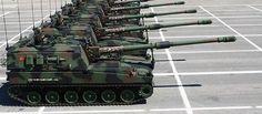 T-155 Fırtına - Turkish 155 mm self-propelled howitzers