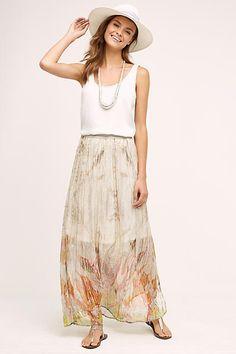 Blank Oahu Maxi Skirt