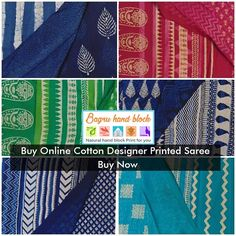 Buy Online Cotton Designer Printed Saree  Really its an awesome women's Designer Saree Buy Online in india for best collection in this year. Also shop online now www.bagruhandblock.com.  #Kurtis #SalwarSuits #ShiboriSaree #BedSheets #RunningFabric #Sarees #DesignerSaree #PrintedSaree