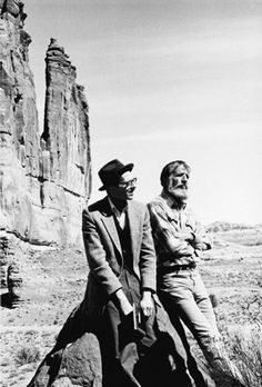 Edward Abbey and R. Crumb    The ecological author and the American cartoonist.