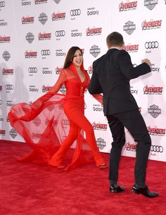 Jeremy Renner and Ming-Na Wen: Premiere Of Marvel's 'Avengers: Age Of Ultron'