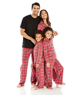 Karen Neuburger Family Sleepwear Fleece Holiday Pajama SetRed PlaidMom L * Find out more about the great product at the image link.Note:It is affiliate link to Amazon.