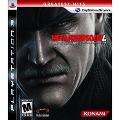 Metal Gear Solid 4: Guns of the Patriots - A Playstation Greatest Hit - MORE DETAILS http://www.amazon.com/gp/product/B000FQ2D5E/ref=as_li_ss_tl?ie=UTF8=topp05-20=as2=1789=390957=B000FQ2D5E