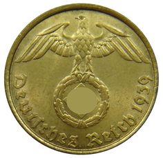 Germany 1924 J 1 Reichspfennig VF KM37