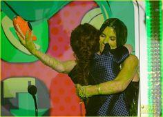 Kristen Stewart: Slime Victim at Kids Choice Awards 2013!