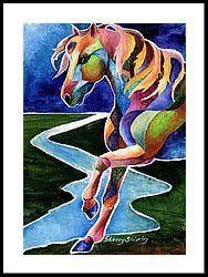 River Dance 2 Framed Print by Sherry Shipley