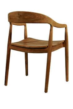 Whether your dining room is petite or expansive, our teak armed mid-century Ida dining chairs hit just the right note. Pull two up beside your round apartment-sized pedastle table or gather several of these dining room chairs around your full-sized table.