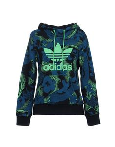 dd0a048470fb Adidas Originals Women Hooded Sweatshirt on YOOX. The best online selection  of Hooded Sweatshirts Adidas Originals.