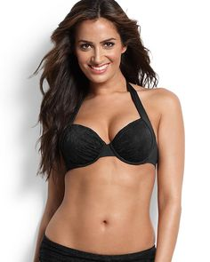 Black Lace Tommy Bahama bikini -- I want this for the honeymoon!!!