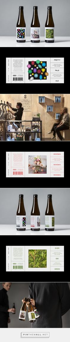 Packaging for O/O Brewing by Lundgren+Lindqvist via BP&O curated by…