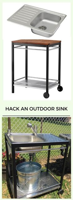 Outdoor sink: A perfect Summer project http://www.ikeahackers.net/2017/06/outdoor-sink-perfect-summer-project.html