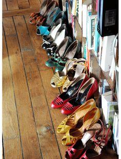 Les chaussures vintage