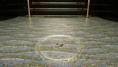 Art Déco no Rio de Janeiro - No chão da portaria do Edifício Itahy,um mosaico colorido simula as ondas do mar: um peixe dá as boas-vindas ao morador