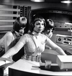 Antonia Ellis, Dolores Mantez, and Shakira Baksh - UFO (1970)