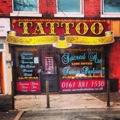 Tattoo parlour.