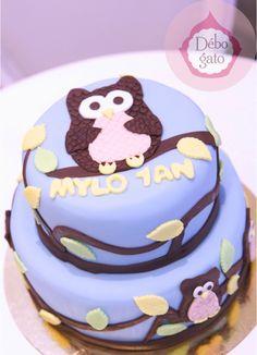 Gâteaux personnalisés, Paris, Passion, Gourmandise, Anniversaire, Gâteau d'anniversaire, Cake design Paris, Birthday cake, Hibou, Animaux, Nature