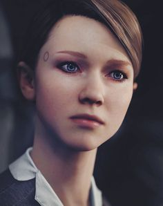 Kara - Detroit: Become Human Playstation, Luther, Gravity Falls, Overwatch, Quantic Dream, Becoming Human, Human Art, Life Is Strange, Wattpad