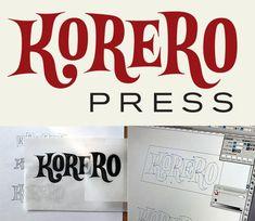 Korero Press logo by Ivan Castro