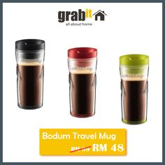Bodum Travel Mug for your Ease ~ GRABit.my