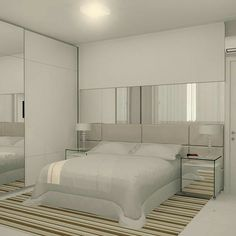 Want to Know More About Luxury All White Bedroom Decor? - decorhomesideas Want to Know More About Luxury All White Bedroom Decor? White Bedroom Decor, Small Room Bedroom, Home Decor Bedroom, Bedroom Mirrors, Bedroom Ideas, Small Bedroom Designs, Modern Bedroom Design, Master Bedroom Design, Master Bedrooms