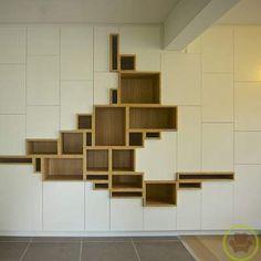 Impresionante modular para el Living