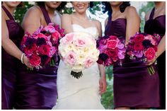 gorgeous bridal bouquet! Garden Roses are the new Peony!