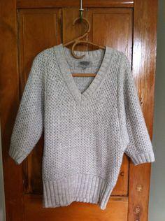 Ecote Knit Gray Sweater