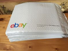 "🇬🇧New 15 Ebay Air Jacket Mailing Envelopes Air Bubble Cushions 9.5x13.25"" #Ebay"