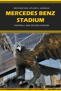 Visit Atlanta's new Mercedes Benz Stadium for the opening weekend of the college football season. The good and the bad from the new stadium. Travel Hack, Rv Travel, Adventure Travel, Travel Tips, Us Vacation Spots, Peach Bowl, Visit Atlanta, College Football Season, Atlanta Falcons