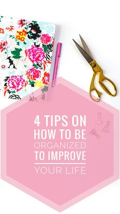 These tips helped me stay organized and be productive everyday. Read it now and pin it for later!
