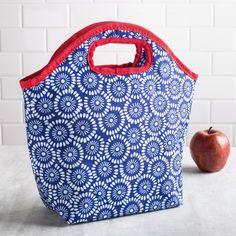Ksp Bella Sunflower Insulated Lunch Bag Blue