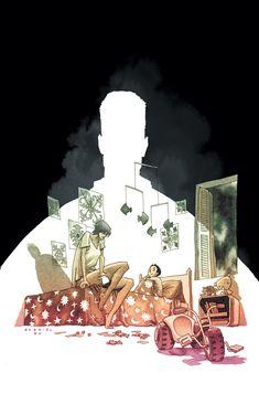 Daytripper, by Fabio Moon and Gabriel Ba Character Illustration, Illustration Art, Fabio Moon, Alternative Comics, Comic Layout, Graphic Novel Art, Gabriel, Environment Concept Art, Comic Book Artists