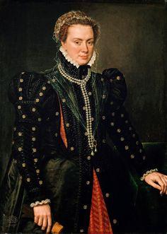 Anthonius Mor - Duchess Margaret of Parma - 1562