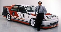 Tom Walkinshaw and the original HRT VL Commodore (circa Car Prints, Aussie Muscle Cars, V8 Supercars, Holden Commodore, Australian Cars, Yorky, Motorcycle Posters, Old Race Cars, Mode Of Transport
