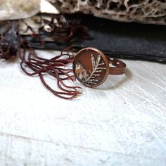 Sea Witch Ring, handmade in Ireland