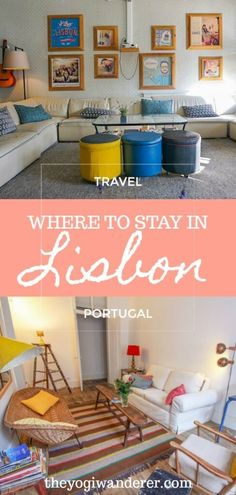 A list of the best places to stay in Lisbon, Portugal according to travel bloggers. Options for any budget, age or travel style, from luxury hotels to budget apartments, from hostels to design boutique hotels. #Lisbonhotels #Lisbonaccommodation #hotelsLisbon #Lisbon #Lisbontravel #Portugal