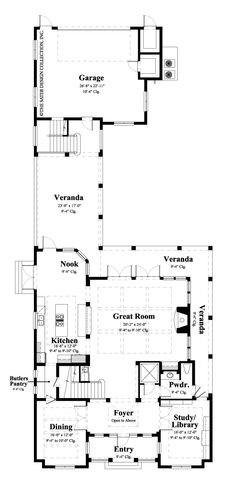 Myrtlewood - Newest Home Plans - Home Plan Styles - Sater Design Collection Plans