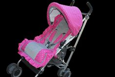 Stroller Seat Cover Only Straps & Canopy by SweetStroller on Etsy