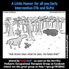 Instagram Post of the Week: A Little Early Intervention Humor - Pinned by @PediaStaff – Please Visit  ht.ly/63sNt for all our pediatric therapy pins