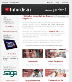 Email Marketing complemento a Sage Crm.